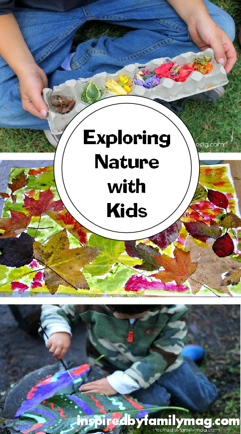 exploring nature with kids
