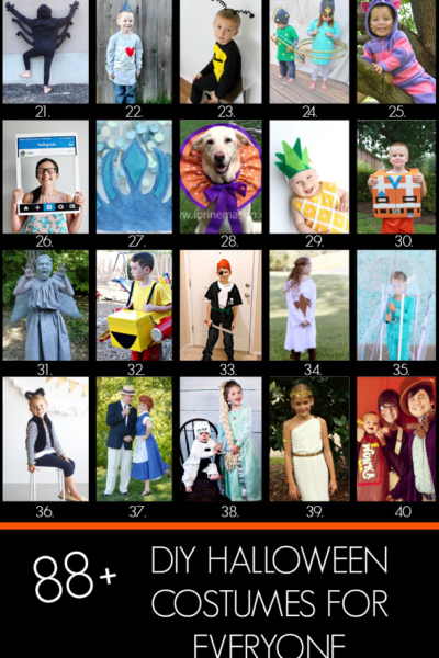88 Really Awesome DIY Costume Ideas
