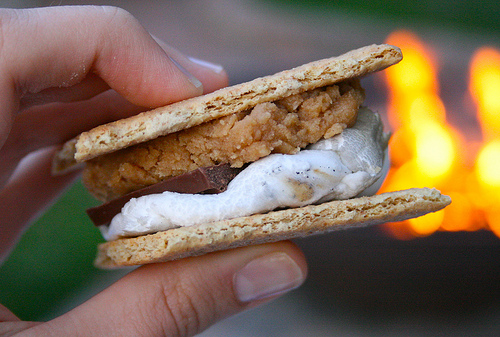 peanut butter smores