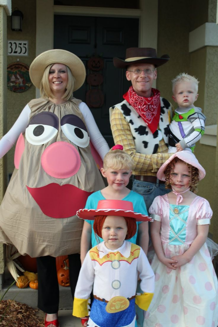 toy story costume  sc 1 st  Inspired by Family : fun family halloween costumes  - Germanpascual.Com
