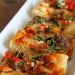Mexican Pizza Sticks