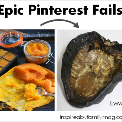 Epic Pinterest Fails in the Kitchen