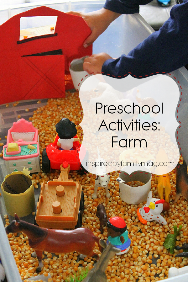 farm kids activities
