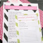 How to Be a Great Babysitter Tips & Printable