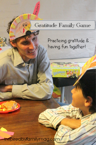 Gratitude Family Game & Activity