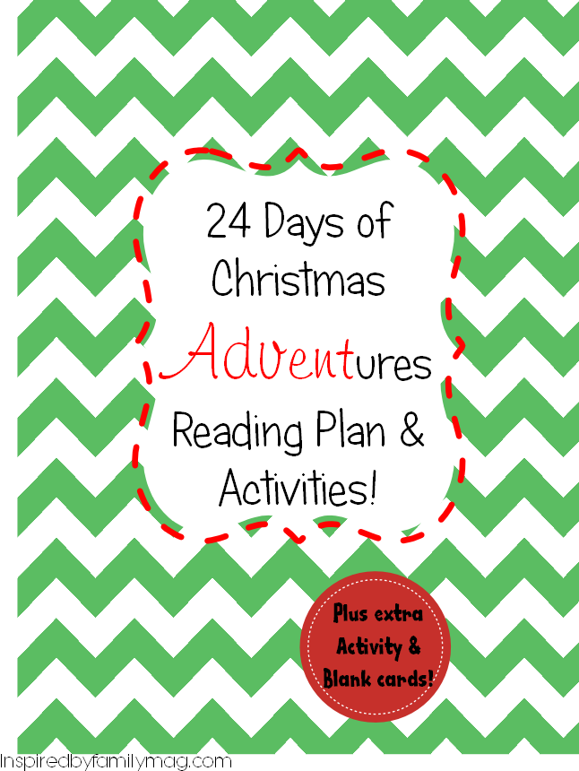 24 days of xmas advent