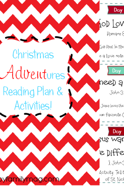 12 Days of Christmas: Advent Calendar Free Printable