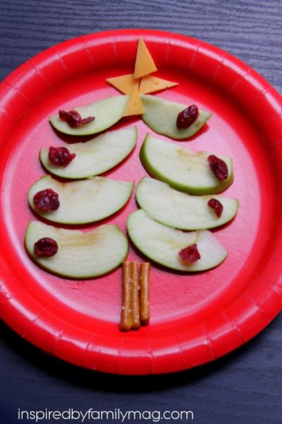 Edible Christmas Tree {Healthy Fun Food}
