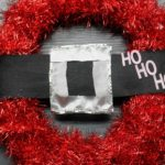 Easy Christmas Wreath: Santa Ho! Ho! Ho!