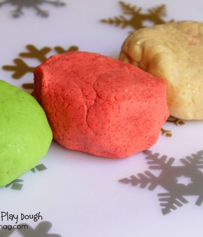 Glitter Play Dough