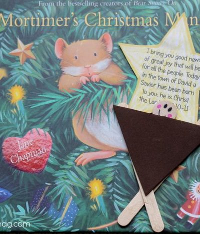 Manger Craft for Kids Inspired by Mortimer's Christmas Manger
