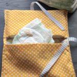 Handmade Gifts: Diaper Clutch