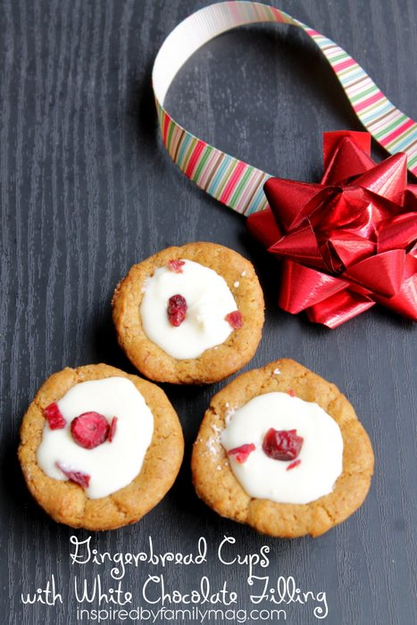 Gingerbread cups