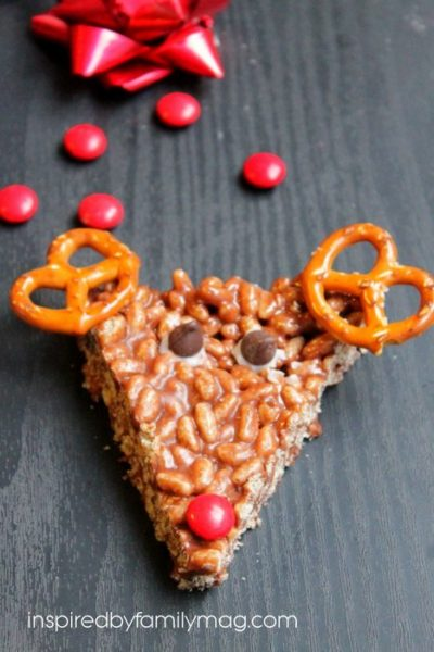 Christmas Fun Food: Reindeer Rice Krispies