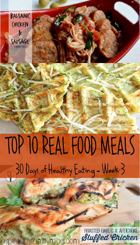 10 real food meals