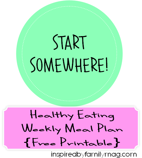healthy eating meal plan week 2