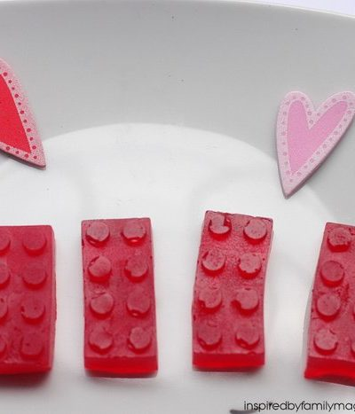 LEGO Valentine's Day Party Favor