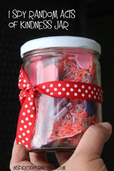 I Spy Random Acts of Kindness Jar!