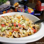 Creamy Chipotle Pasta Salad {healthified}