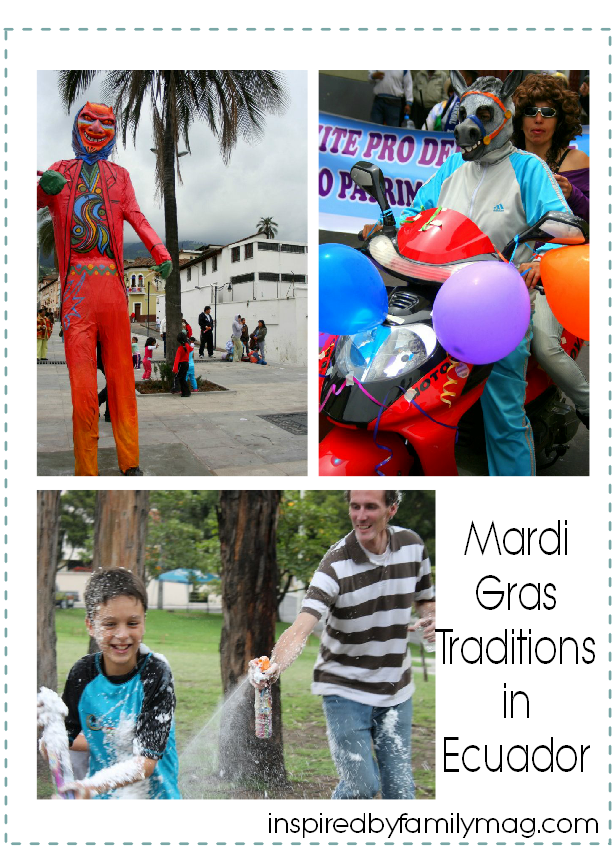 mardi gras traditions in ecuador