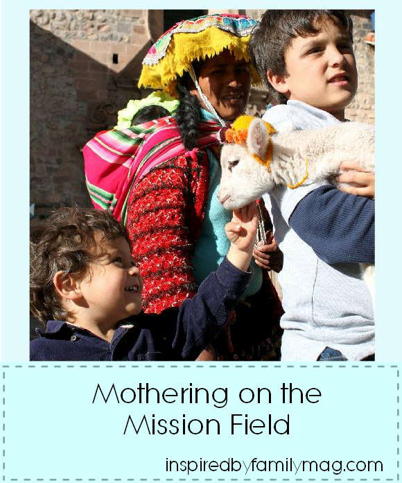 mothering on the mission field
