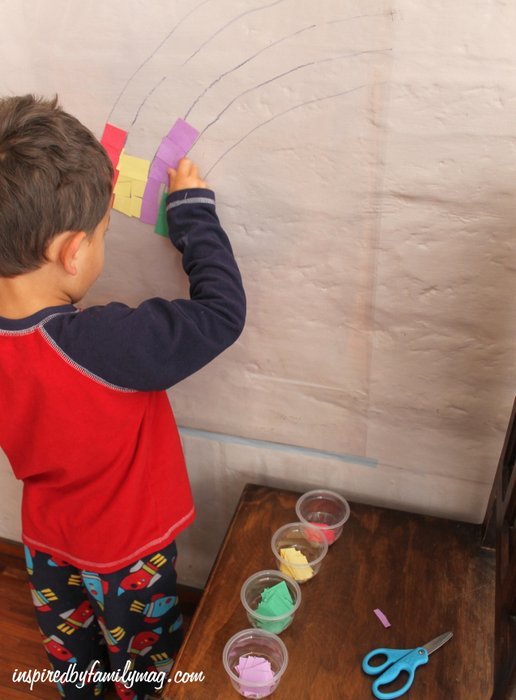 preschool color recognition activity