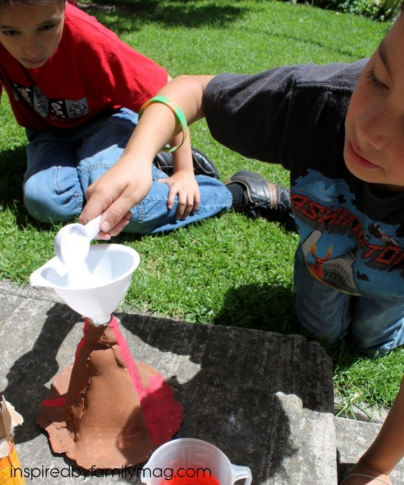 clay volcano project