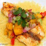 Grilled Tilapia with Mango Avocado Salsa