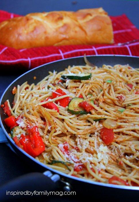spaghetti recipe