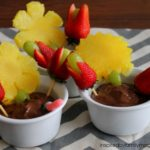 Fruit Flower Pot Snack for Kids