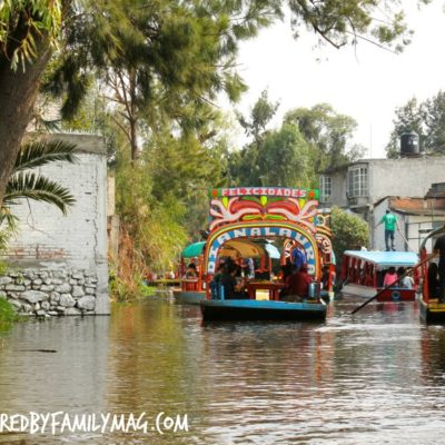 Traveling Adventures with the Familia: Xochimilco Mexico