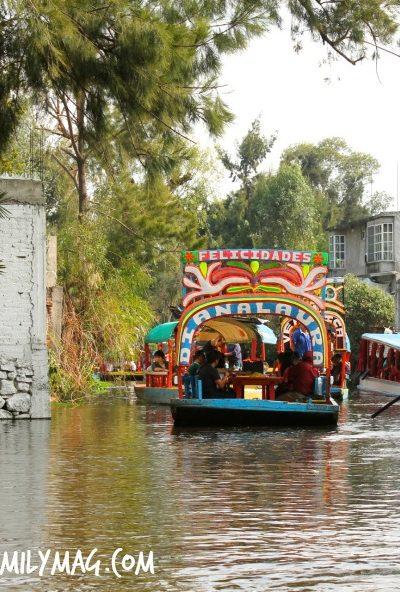 Traveling Adventures with the Familia: Xochimilco Mexico