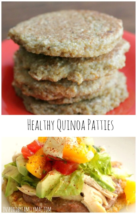 healthy quinoa patties