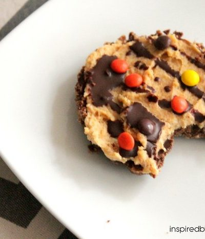 Mini Reece's Pieces Pies (Low Sugar, Gluten Free…)