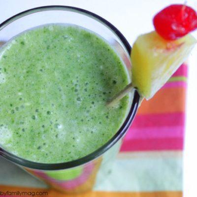 Piña Colada Green Smoothie