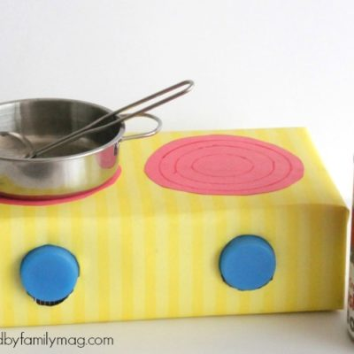 Recycled Box Stove Top