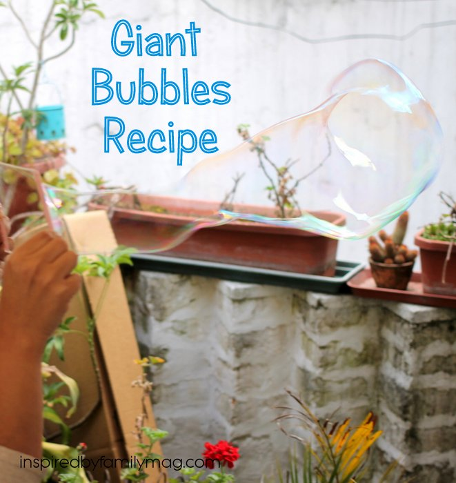giant bubble recipe