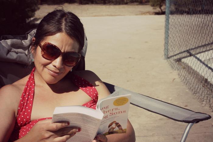 reading mom