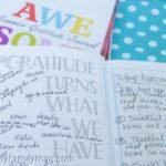 Summer Gratitude Journal