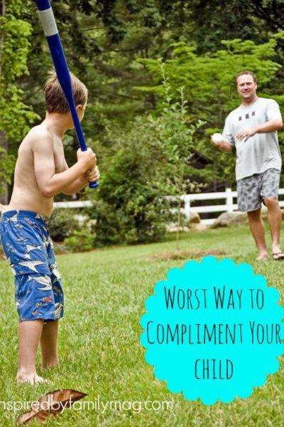 The Worst Way to Compliment Your Children