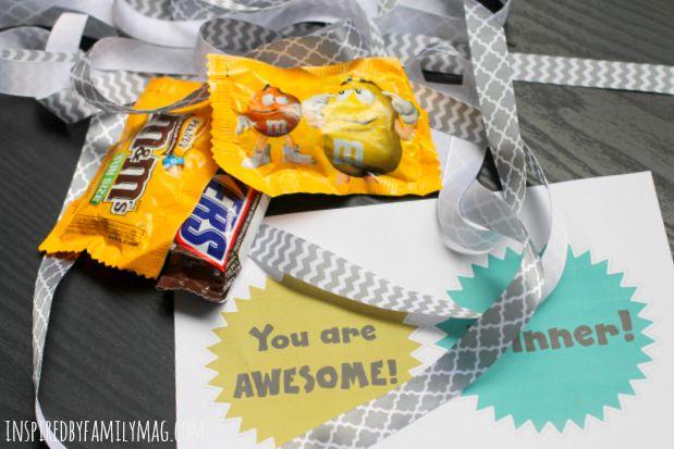 candy bar medals 1