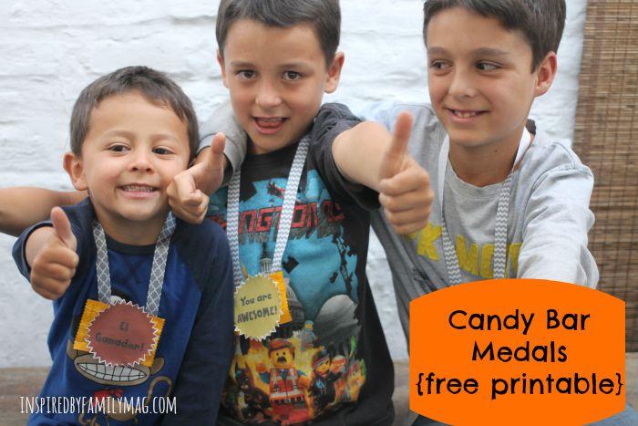 candy bar medals