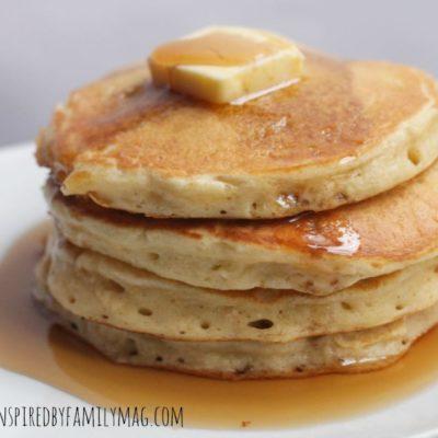My Favorite Light and Fluffy Pancake Recipe