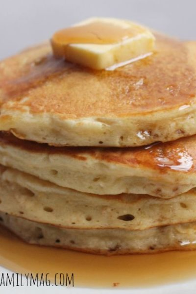 My Favorite Light and Fluffy Pancake Recipe