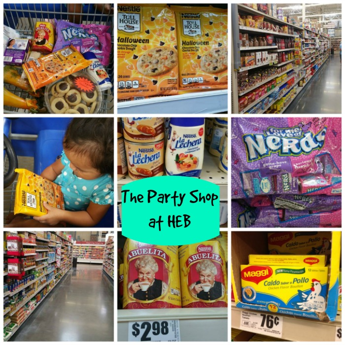 HEB party shop