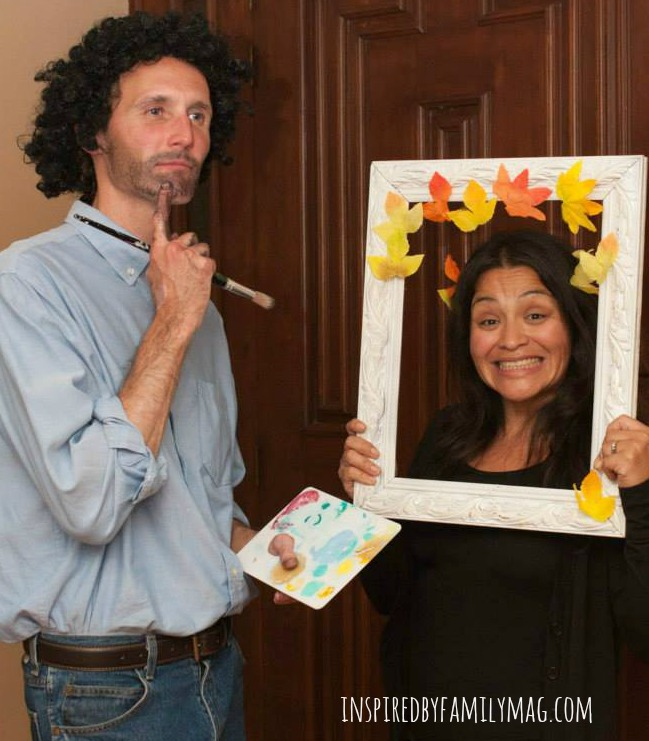 bob ross couples costume