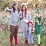 Last Minute DIY Family Halloween Costumes