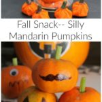 Halloween Fun Food – Silly Pumpkin Snack
