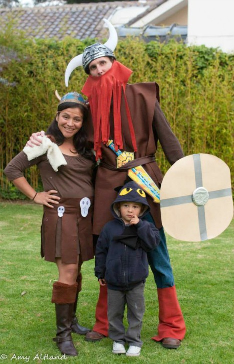 viking family costume 2