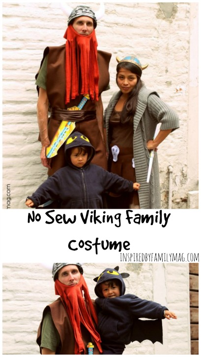 viking family costume